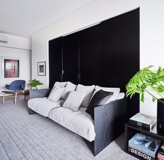 89平米两室一厅现代风格室内装修效果图