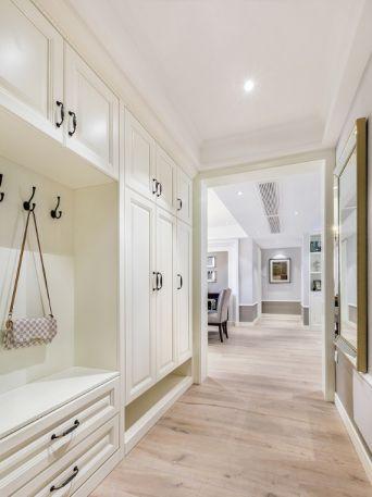 143方美式风格三居室装修效果图