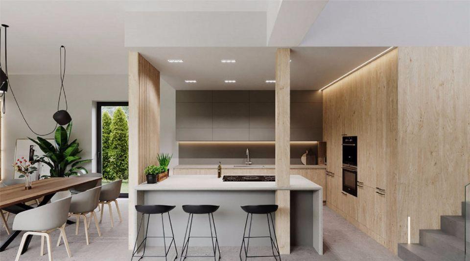 112㎡两室一厅现代风格室内装修效果图