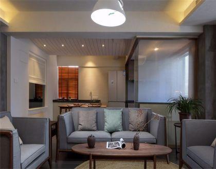 143平中式风三居室装修效果图