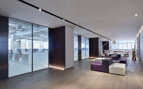 1500平现代风格飞视办公室装修效果图