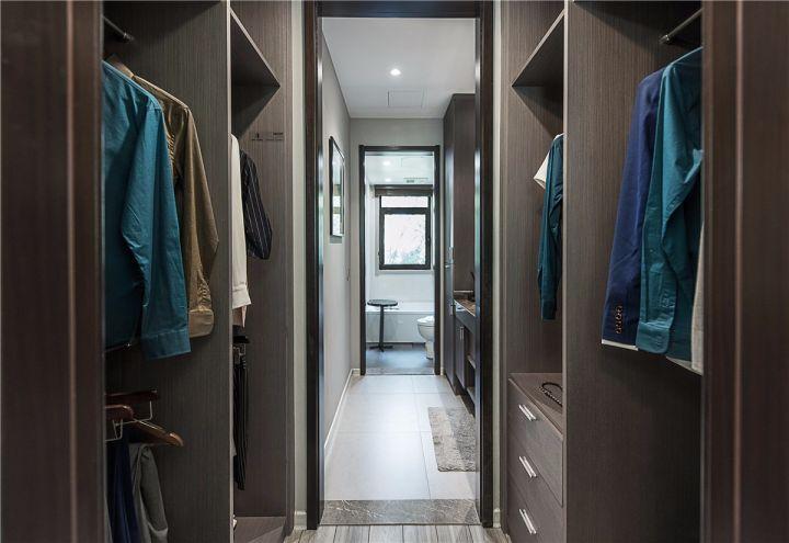 94平米现代简约三居室装修效果图