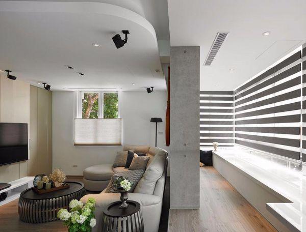 混搭时尚风格四室两厅109平米装修效果图