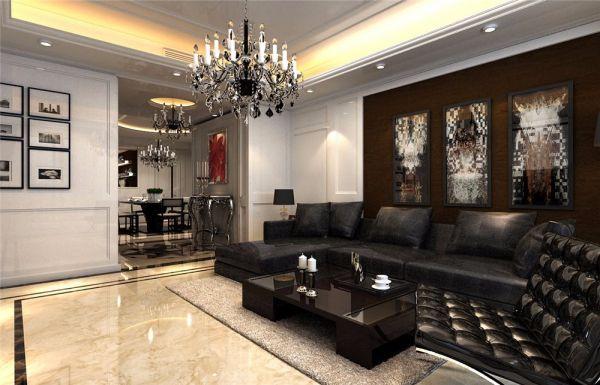 欧式风格200平米四室两厅新房装修效果图