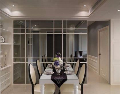 餐厅餐桌欧式商品房装饰图
