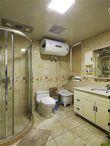 95平米两居室简欧风格装修效果图