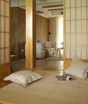 102方日式风格三居室装修效果图