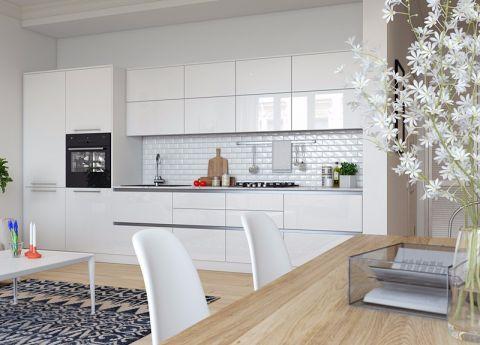 60平北欧风格二居室装修效果图