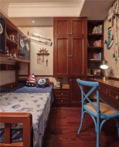 卧室白色背景墙混搭风格装潢图片