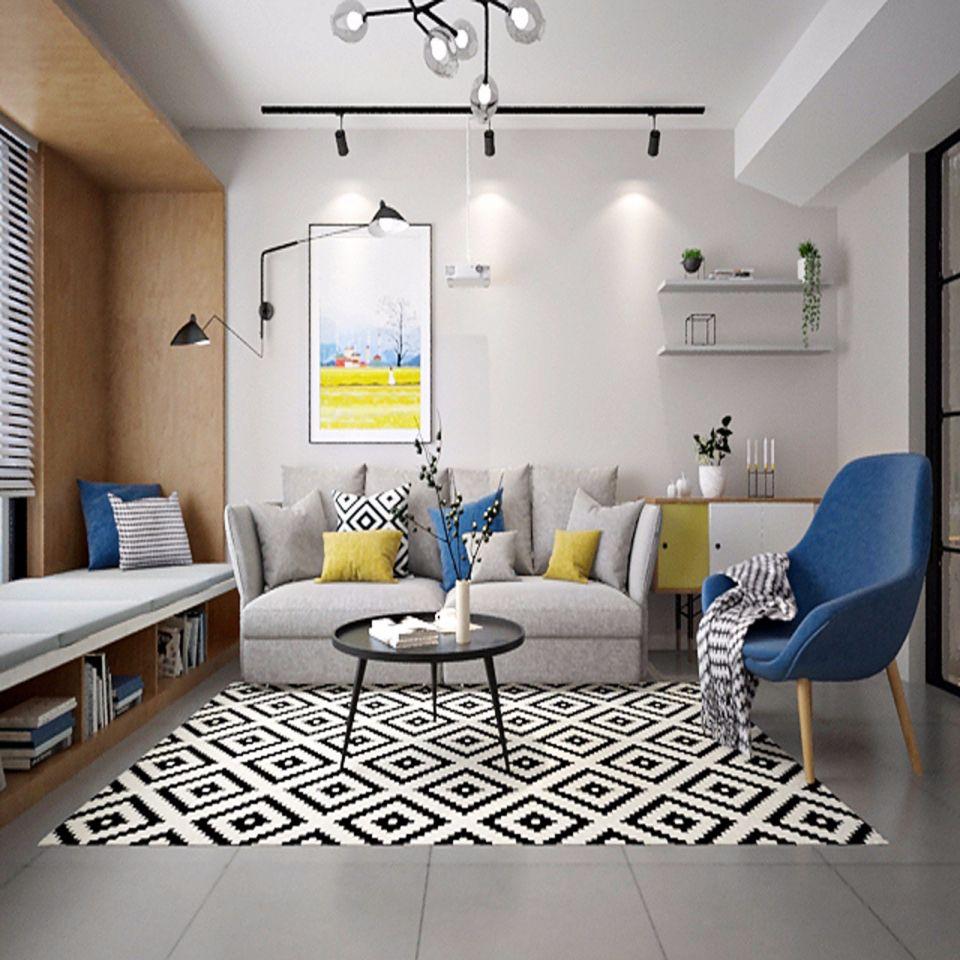 客厅灰色沙发效果图