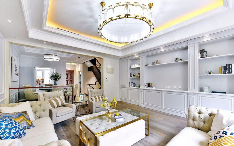 2019法式客厅装修设计 2019法式茶几效果图