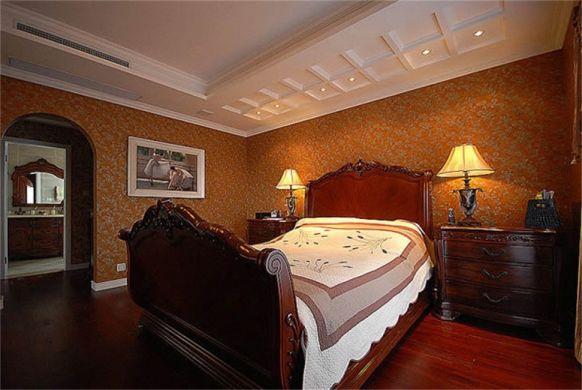 休闲卧室床头柜装饰效果图
