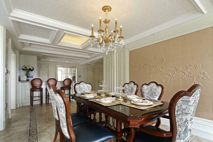 雅致咖啡色餐厅室内装修设计