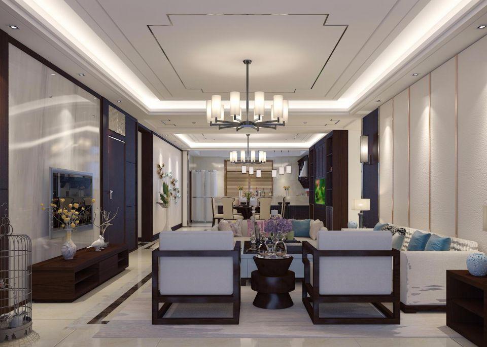 2020新中式150平米效果图 2020新中式楼房图片
