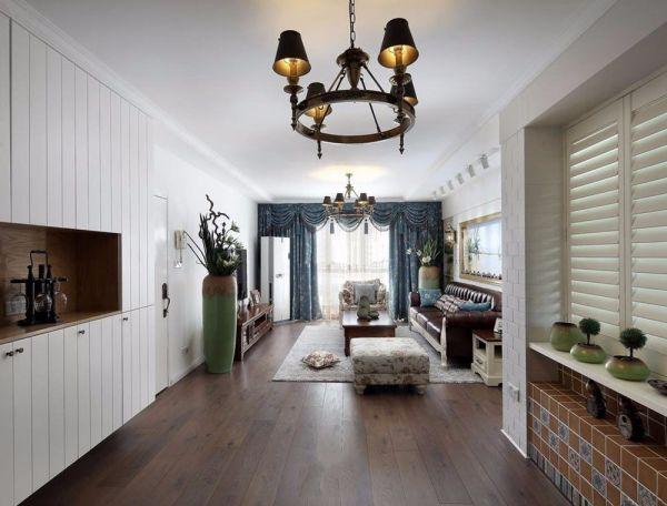 田园风格85平米3房2厅房子装饰效果图