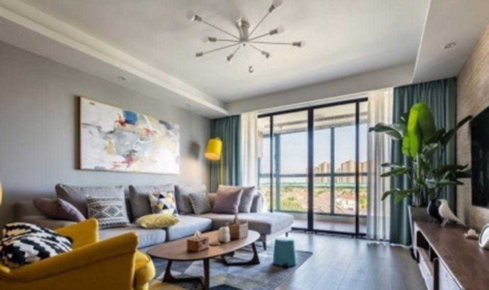 混搭風格160平米4房2廳房子裝飾效果圖