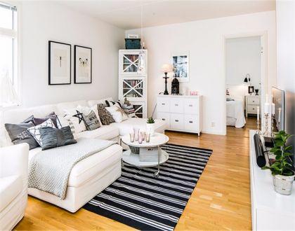 欧式风格43平米公寓室内装修效果图