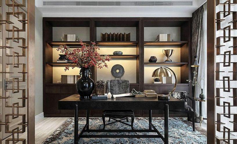 现代中式与传统中式两种相近的风格用微乎其微的色彩调控,我们把各种空间的深浅色各自调成了一种独特的协调性,在居家久腻了之后对于装修的空间也会有一种焕然一新的感觉。