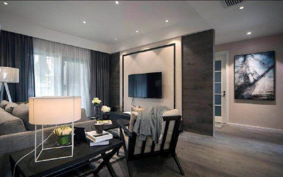 90平方米三室两厅简约风格装修效果图