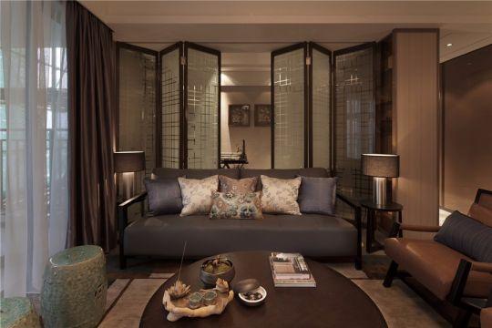 现代简约风格170平米套房室内装修效果图
