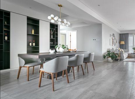 现代风格162平米三室两厅新房装修效果图