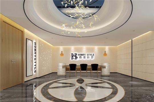 200平现代风格美容院装修效果图