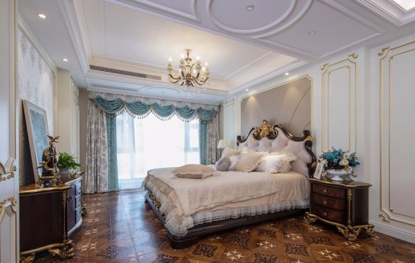 法式风格360平米别墅室内装修效果图
