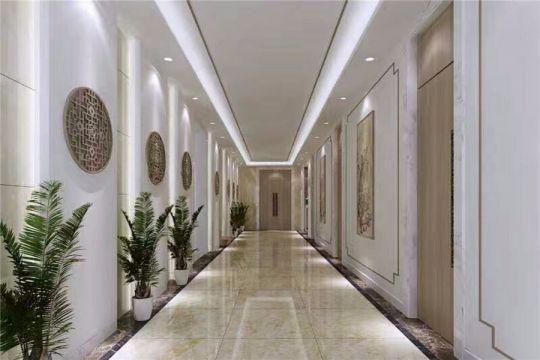 300平中式风格办公楼装修效果图