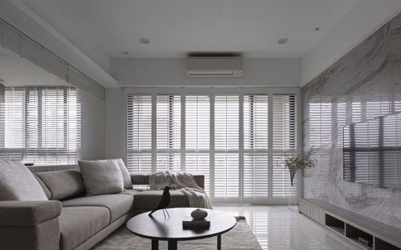 110平米北欧风格 三居室 18万装修效果图
