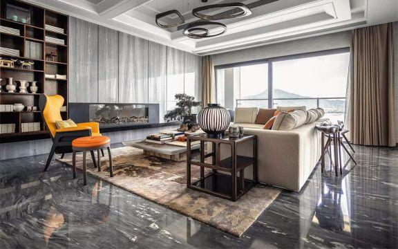 280平米 28万北欧风格四居室 装修效果图