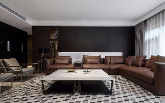 现代简约 | 三居室 | 170平米 | 19万装修效果图
