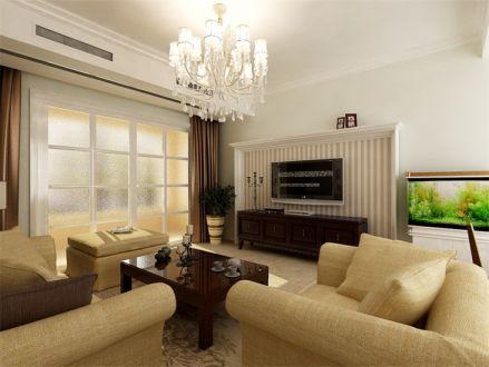 92平米混搭风格两居室装修效果图