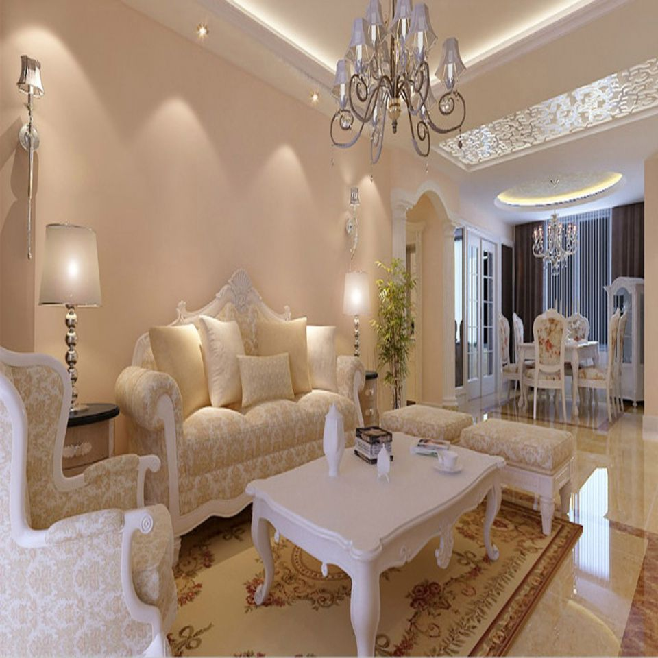 简欧风格170平米两室两厅新房装修效果图