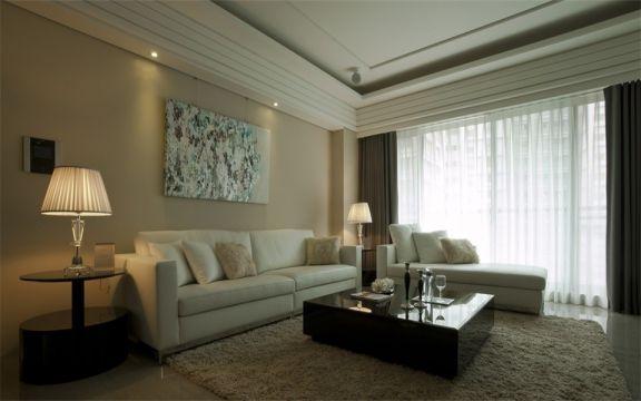 145平米三居室新古典风格装修效果图
