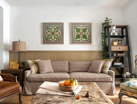 145方混搭风格三居室装修效果图