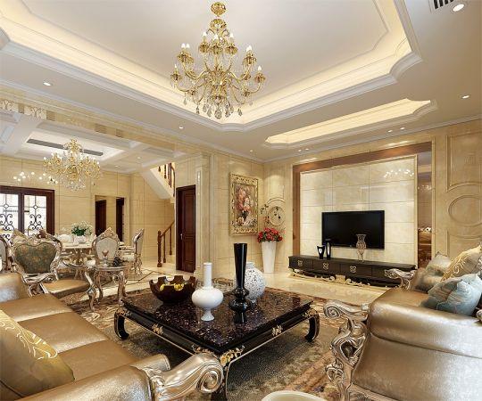 300平欧式别墅设计方案效果图