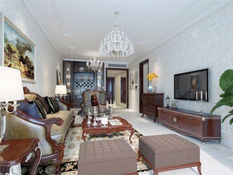 合肥望湖城170平简欧风格四居室装修效果图案例