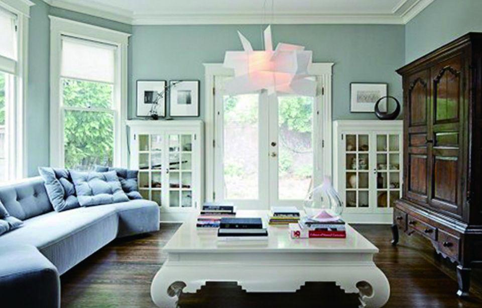 90平方美式两居室装修效果图