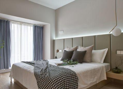 简约风格105平米三室两厅新房装修效果图