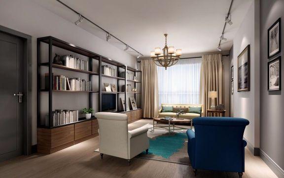 现代风格118平米三室两厅新房装修效果图