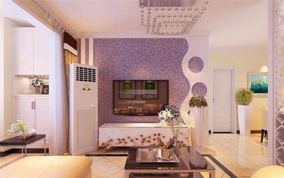 现代简约风格88平米楼房室内装修效果图