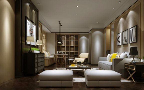混搭 | 三居室 | 170平米 | 18万装修效果图