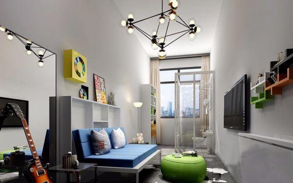 混搭 | 二居室 | 103平米 | 22万装修效果图