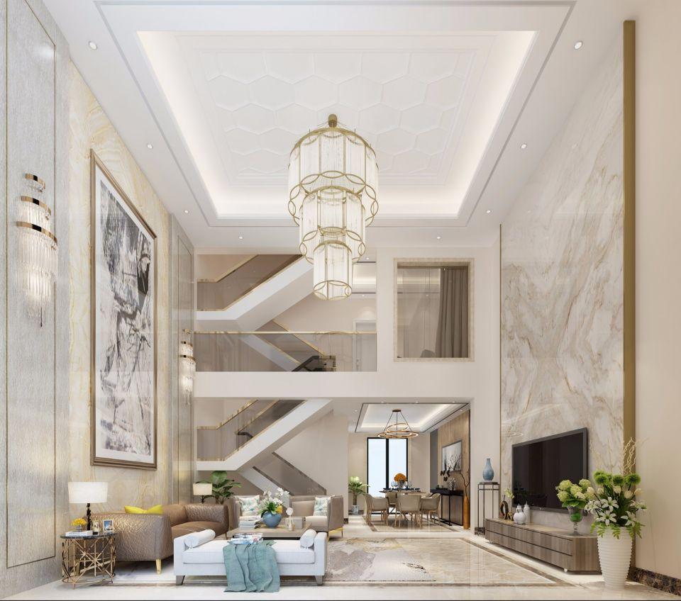 300方现代风格别墅装修效果图