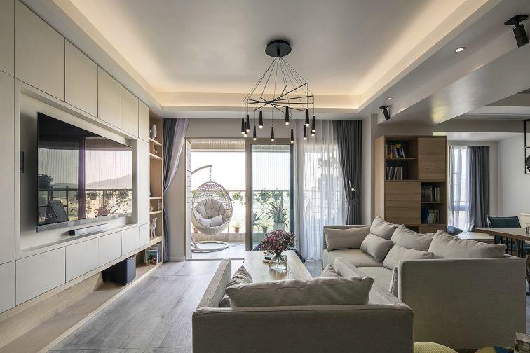 北欧风格178平米三室两厅室内装修效果图