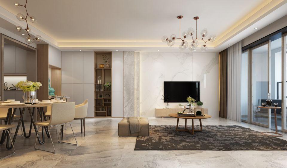 南湖半岛200平方和式风格四居室装修效果图