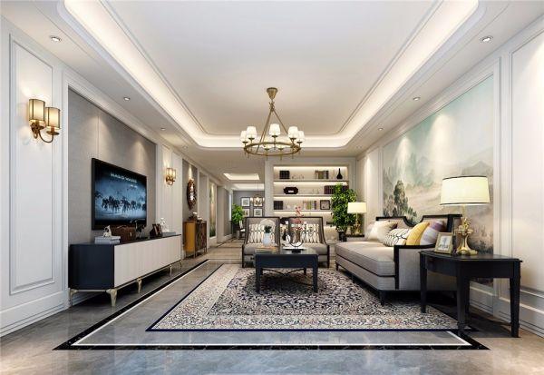 简欧风格230平米别墅新房装修效果图