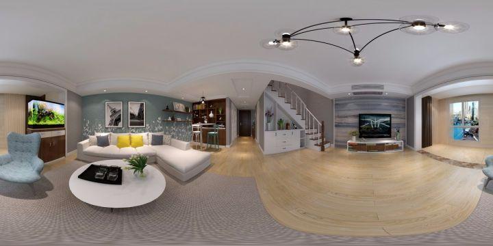 98平现代简约套房装修效果图