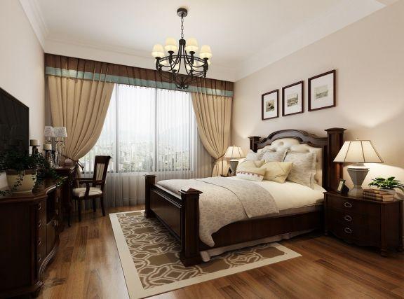 设计精巧咖啡色卧室家装设计