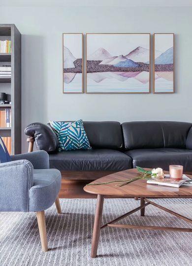 2019北欧客厅装修设计 2019北欧茶几效果图